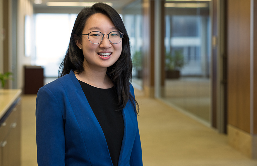 Joyce Cho, Stinson LLP Photo